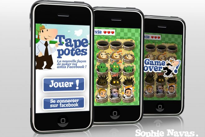 tape-pote jeu android