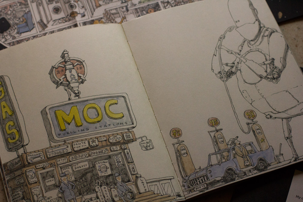 artbook Mattias Adolfsson