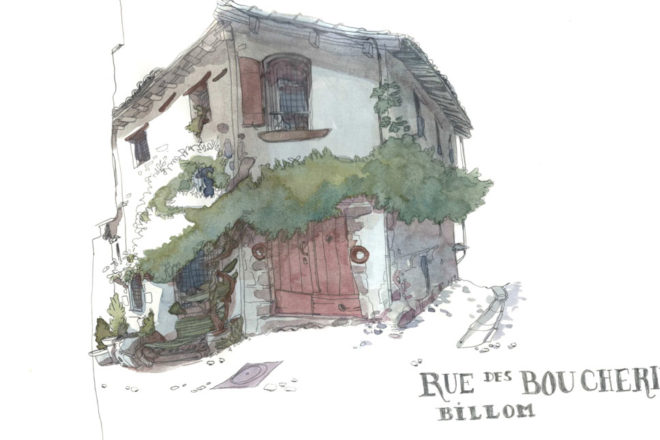 sketchcrawl Billom octobre 2018