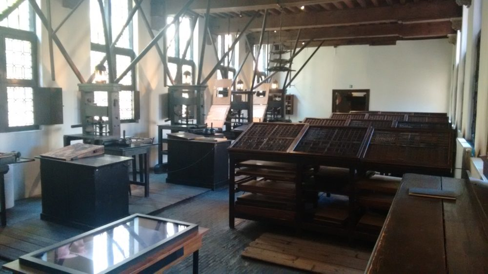musée plantin moretus Anvers, photo