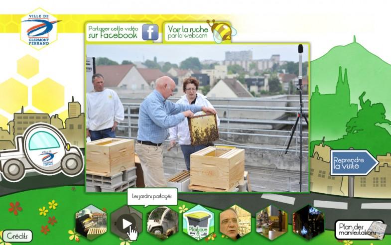 Ville de Clermont-Ferrand: site flash