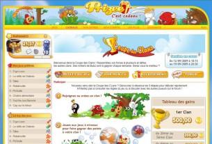 Prizee.com : webdesign et création graphique des pages web